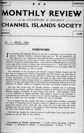 042 CI Soc Mag first one - No 1 May 1941