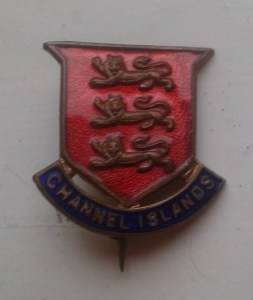 CHANNEL ISLAND SOCIETY BADGE FROM JOAN