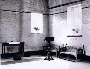 The chapel built by the evacuee boys of Elizabeth College