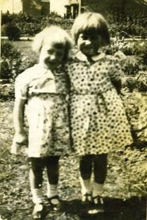 Vi on left Mary Draper on right