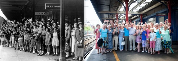 Evacuees THEN AND NOW